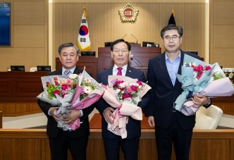 경상북도의회, 제11대 후반기 의장단 선출